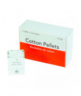 PELLETS ALGODON N.3 4.3mm.