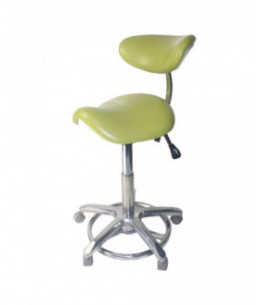 STOOL CHAIR TABURETE CLINICO DE DENTISTA CON RESPALDO