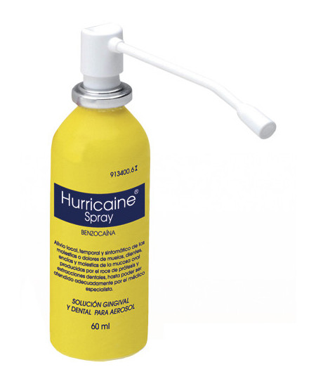 HURRICAINE SPRAY 60ML